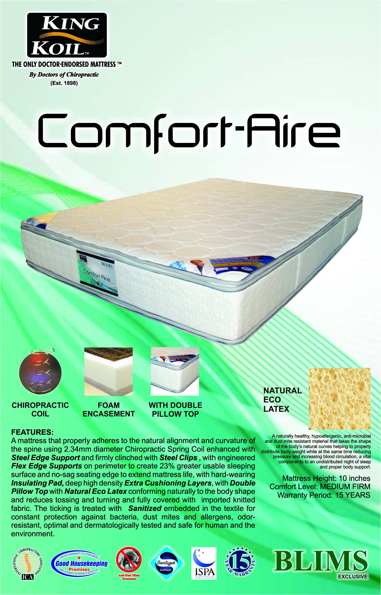 New Comfort aire